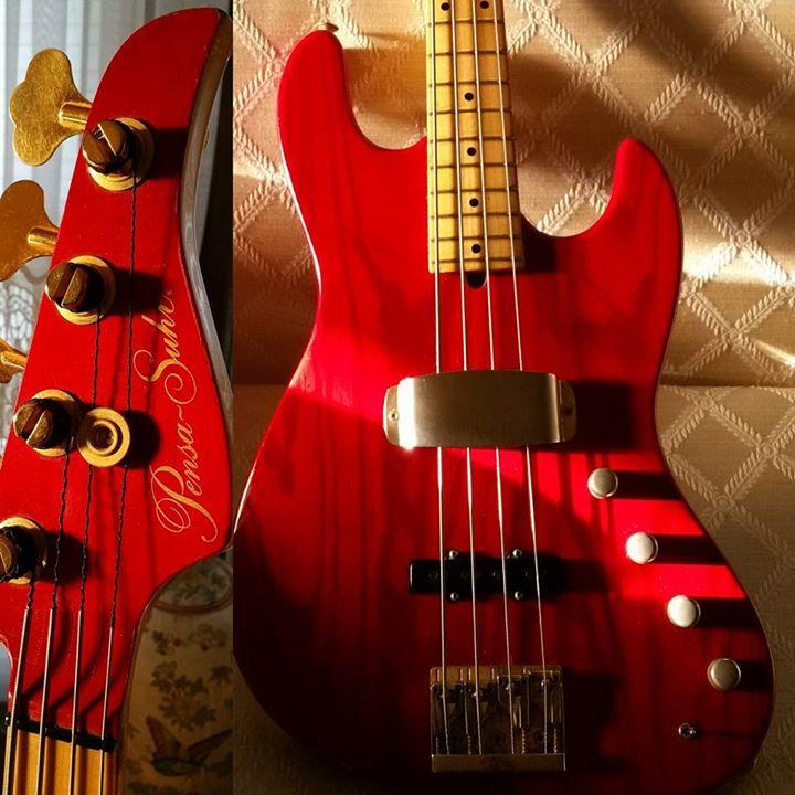 The tone King! 92 Pensa Jazz Bass!
