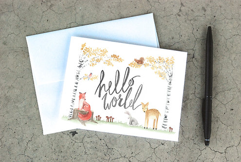 Hello World Card