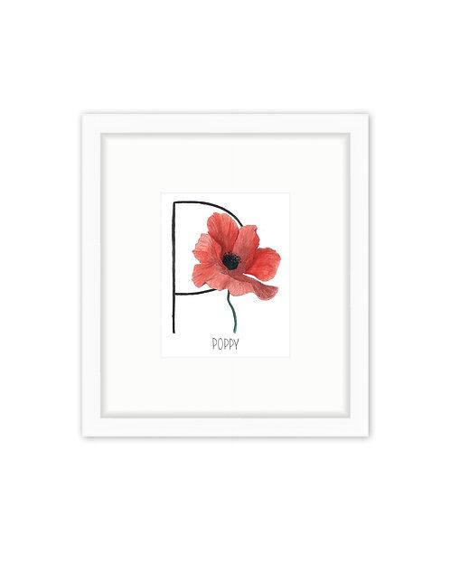 Poppy Letter