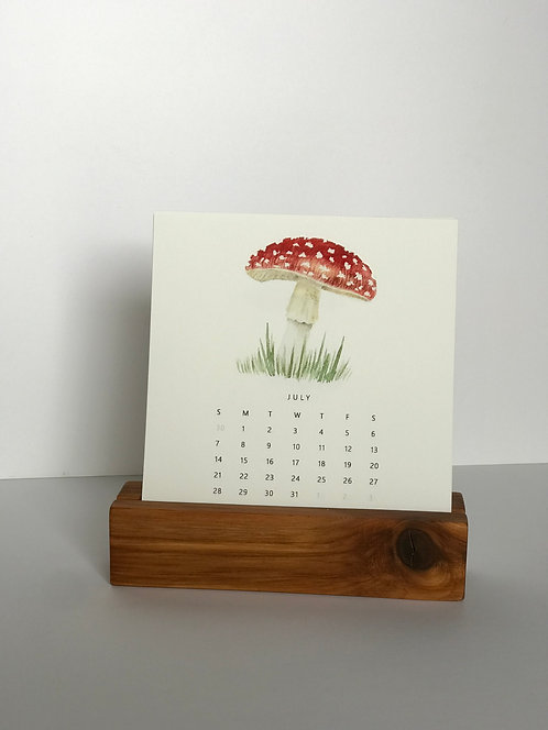 2021 Mushroom Desk Calendar