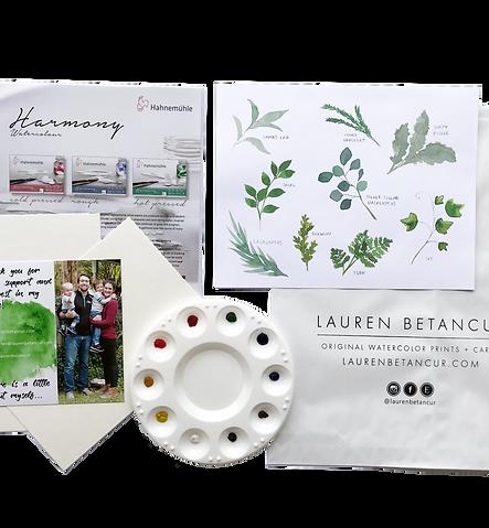 Leaves & Laurels Supply Kit