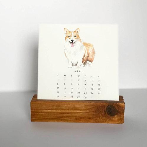 2021 Pup Portrait Desk Calendar