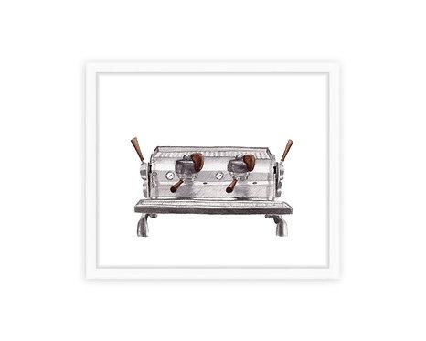 Espresso Machine Print