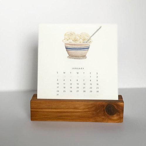 2021 Ice Cream Desk Calendar