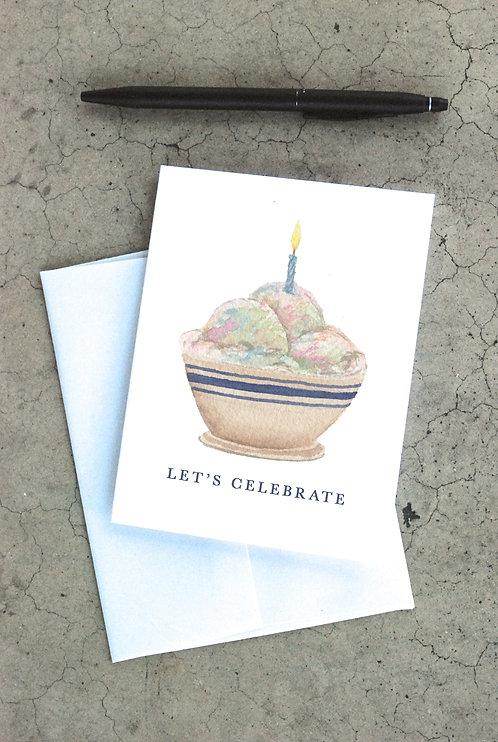 Let's Celebrate Card