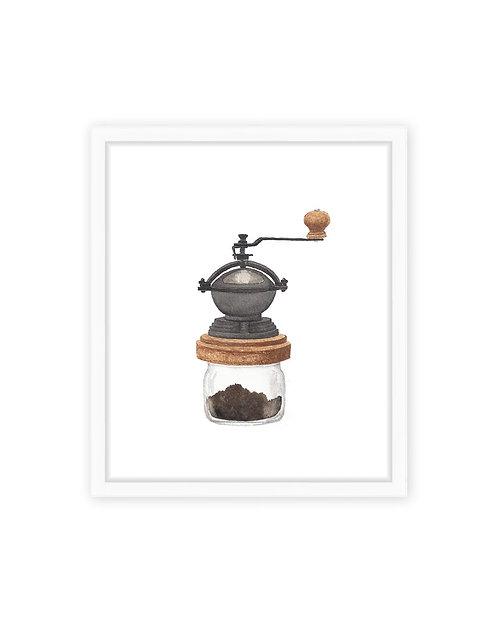 Coffee Grinder Print