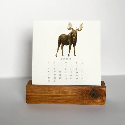2022 Animals Desk Calendar