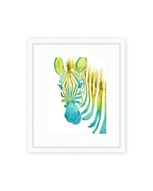 Original Neon Zebra