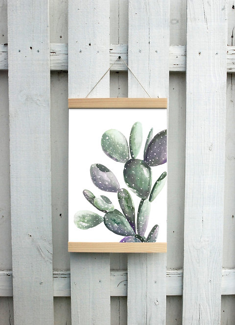 Cactus Canvas Hanging Print