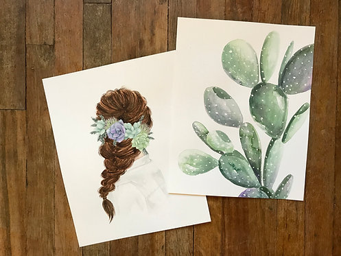 Cactus/Braid Duo