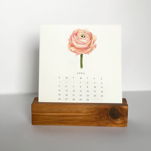 2020 Botanical Blooms Calendar