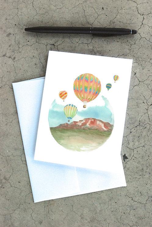 Albuquerque Balloon Fiesta Card