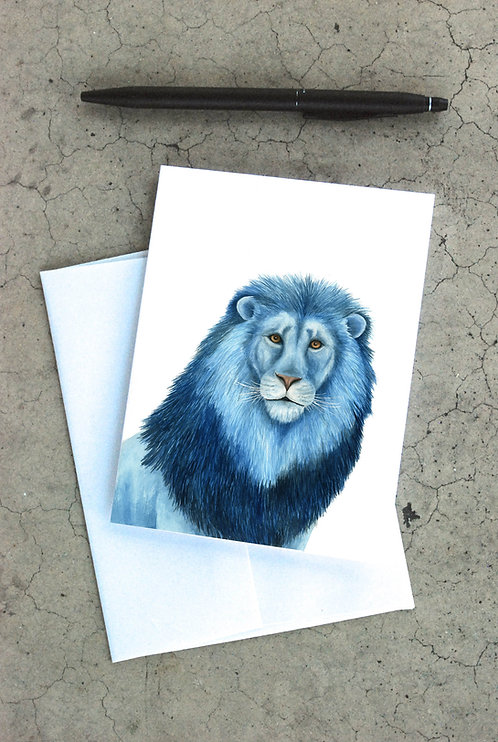 Blue Lion Card