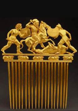 Altın Tarak, İskit Sanatı