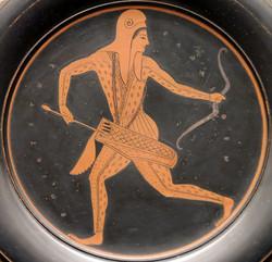 Yunan Vazosunda İskit Savaşçı