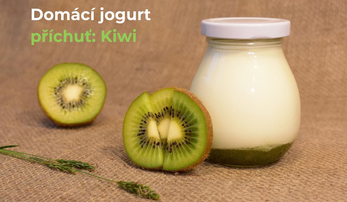 Jogurt: příchuť kiwi