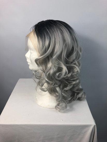 Gabrielle - Black Brown/Silver Grey