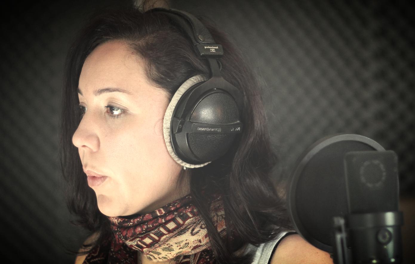 Judith singing....