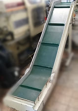 nastro trasportatore usato belt conveyor virginio industriale used machinery plastic