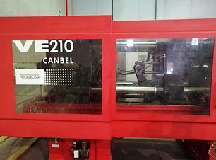 NB negri & bossi canbel pressa industriale usato used machinery plastic molding moulding
