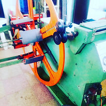 Bobinatore Lunardon extrusion machinery plastic
