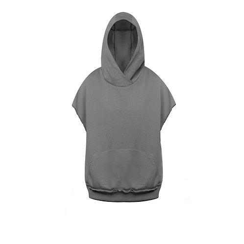 Muscle Hoodie - Charcoal