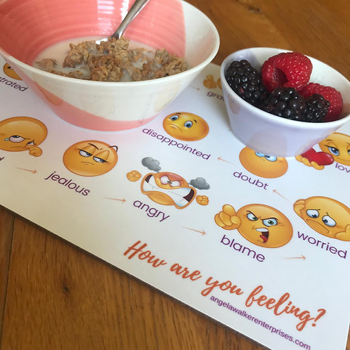 """""""How are you feeling?"""" Placemat"""