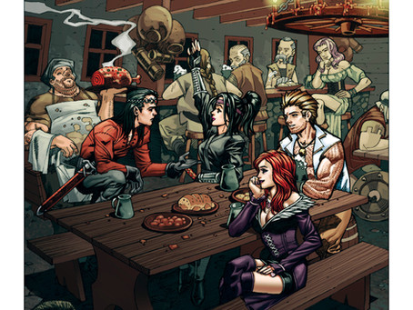 Welcome to MF Comics