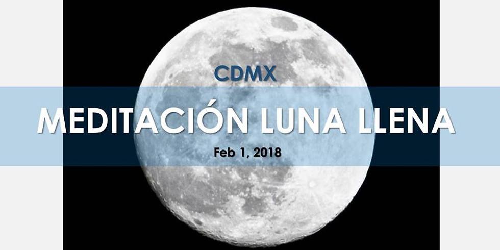 Meditación CDMX: Cerrando ciclos con la Luna Llena!