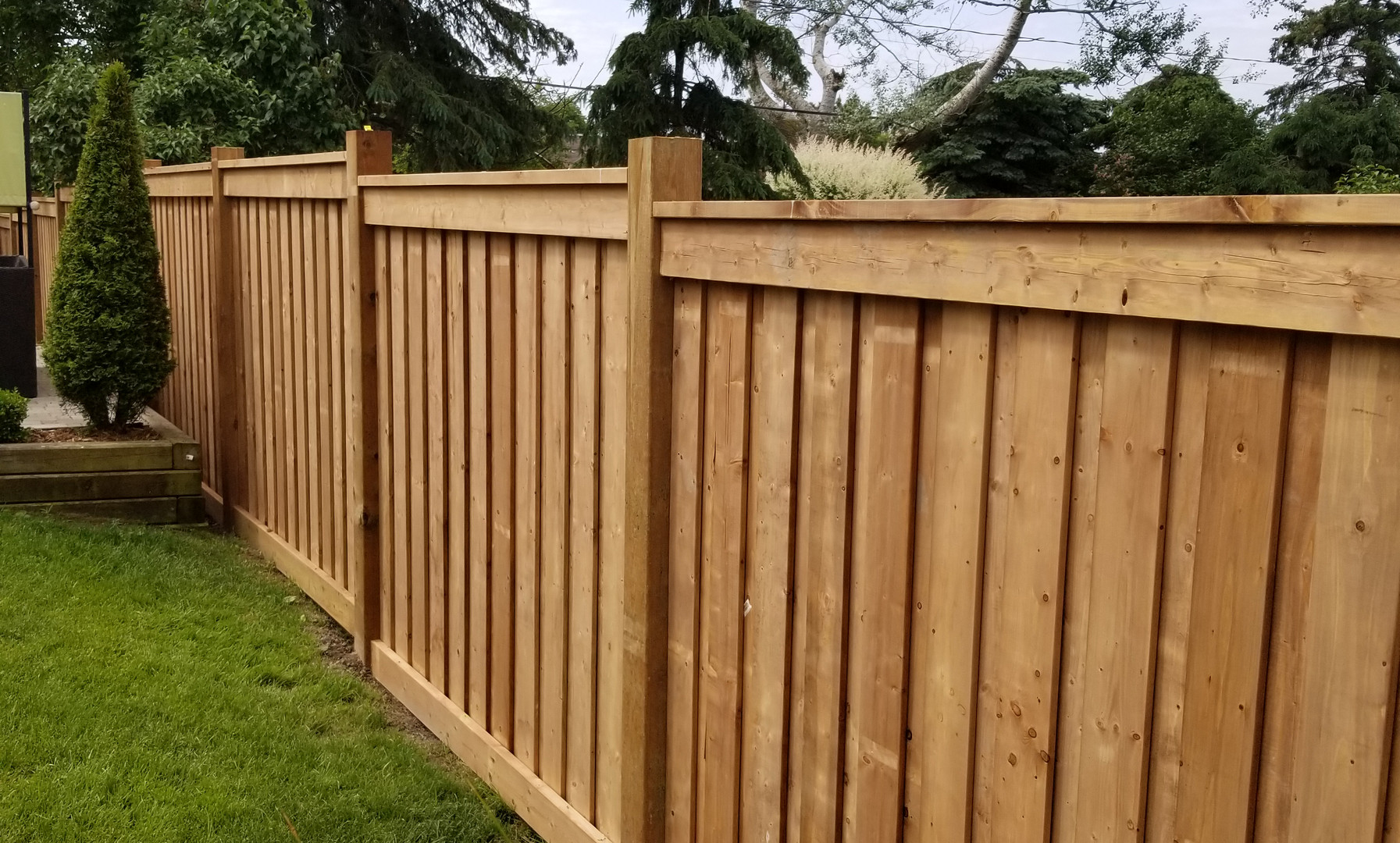 New Fence Construction