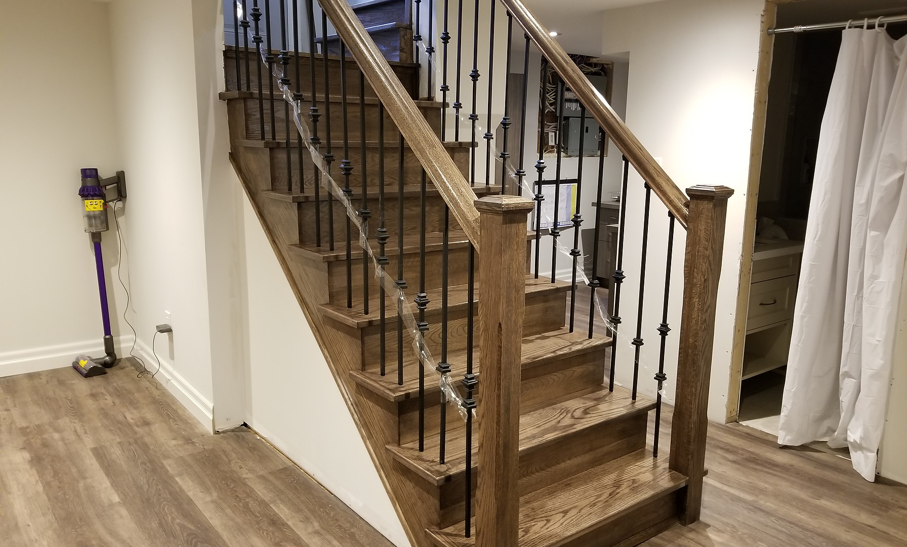 New Basement Oak Staircase