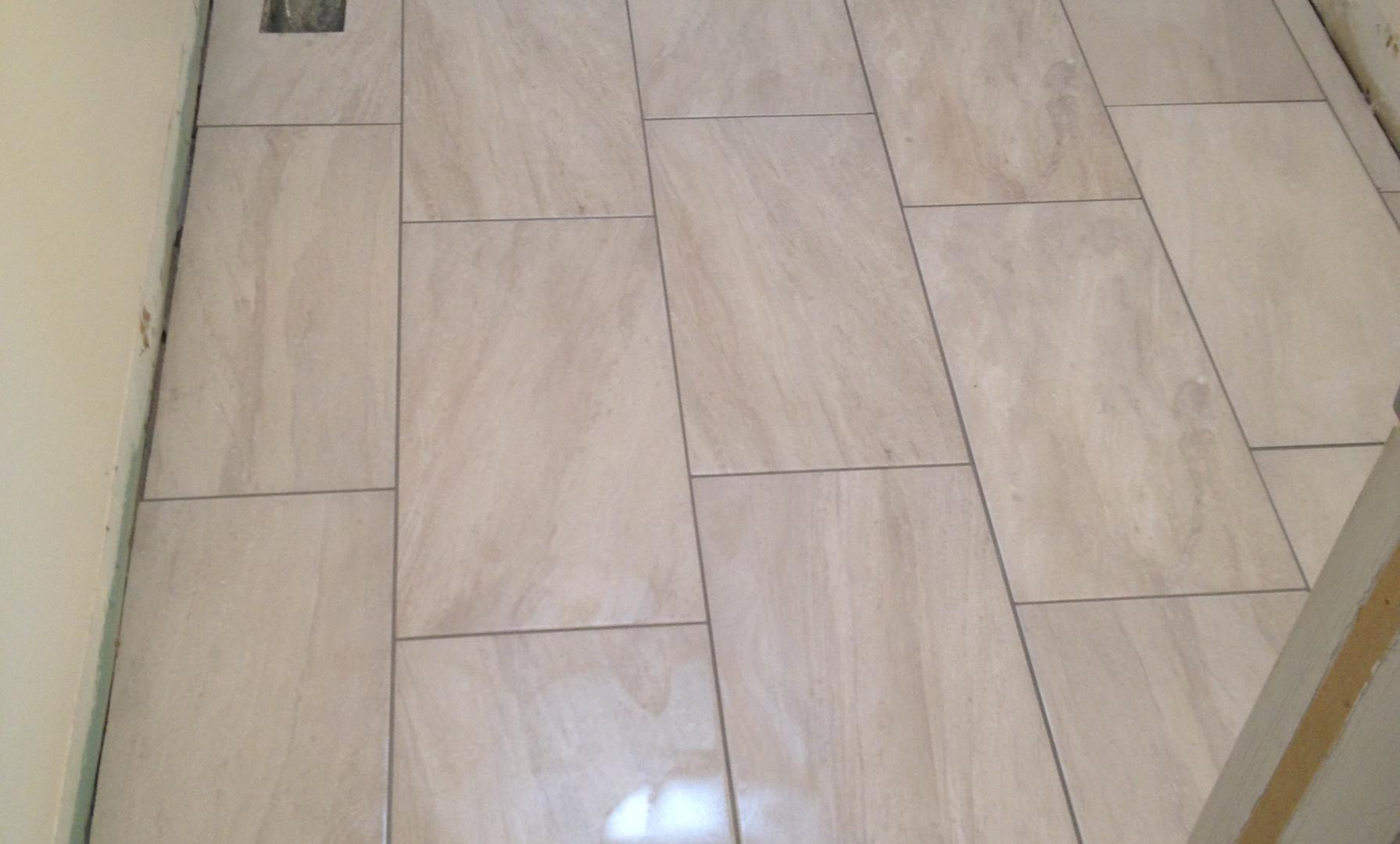 Main Bath Flooring