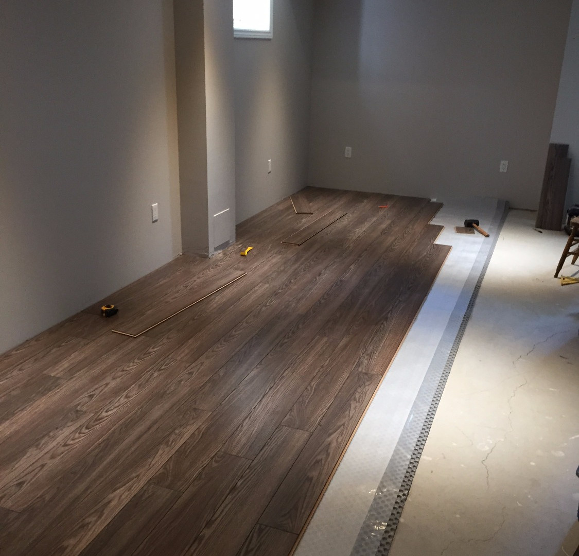 Jonesridge Basement Flooring (1/2)