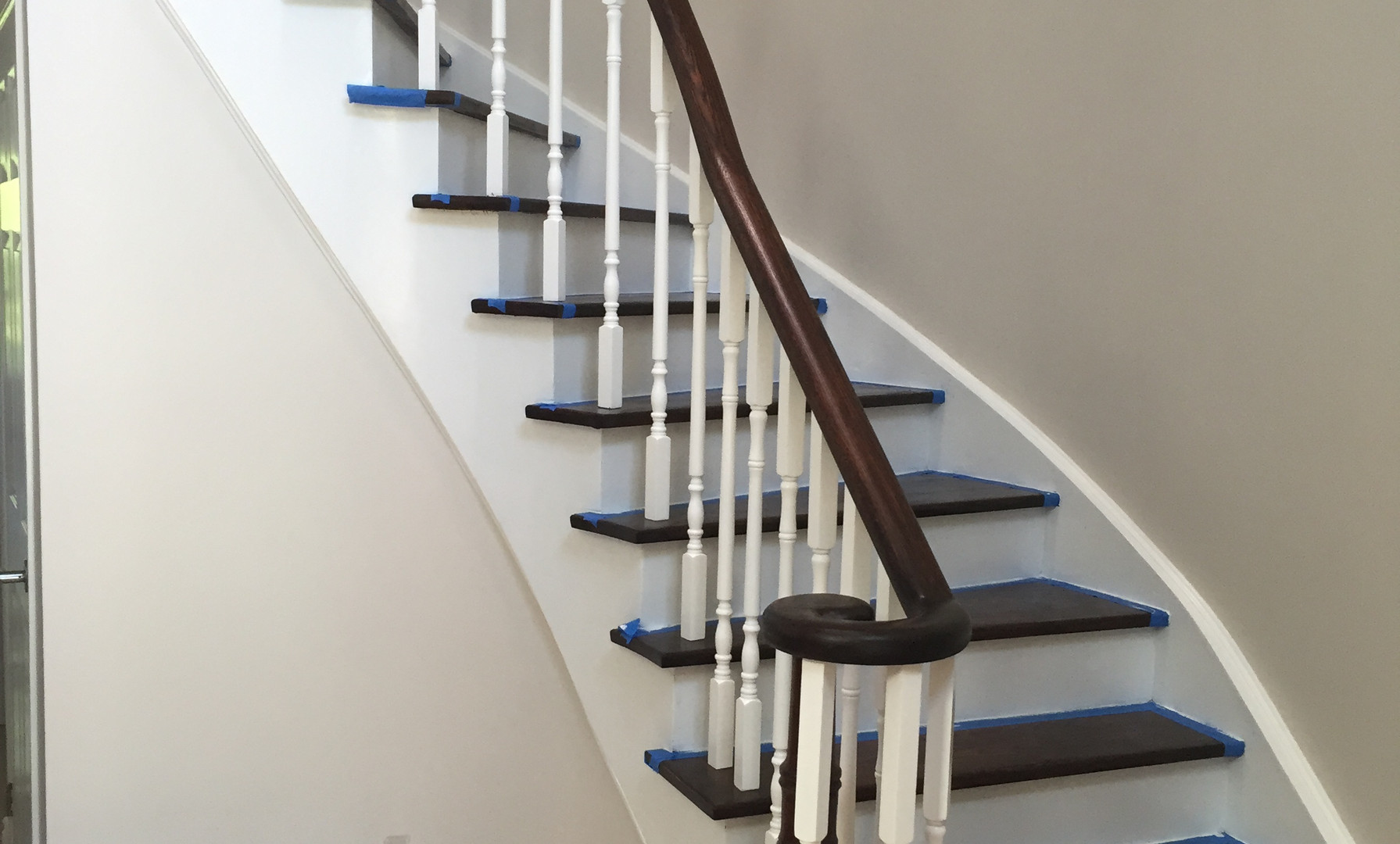 MacLeod Staircase Refinish
