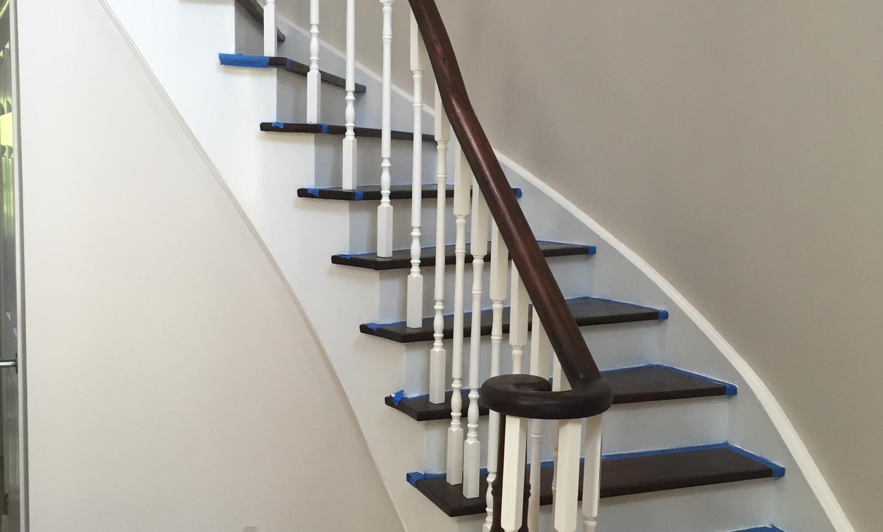 MacLeod Staircase Refinish