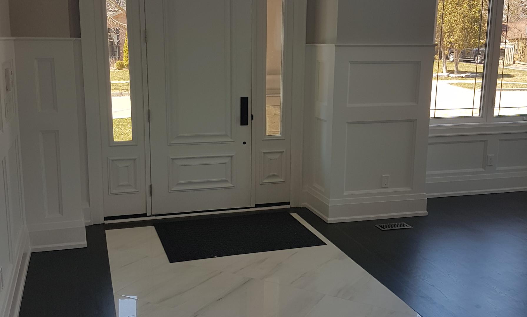 Front Foyer Tile Insert