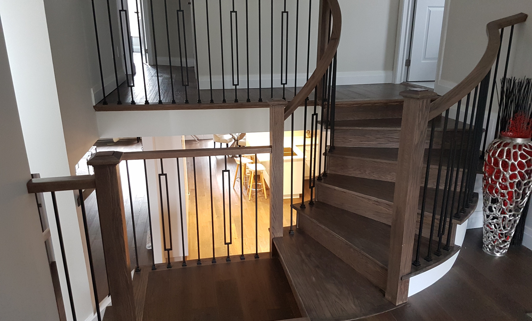 Springfield Staircase Refinish (2/2)