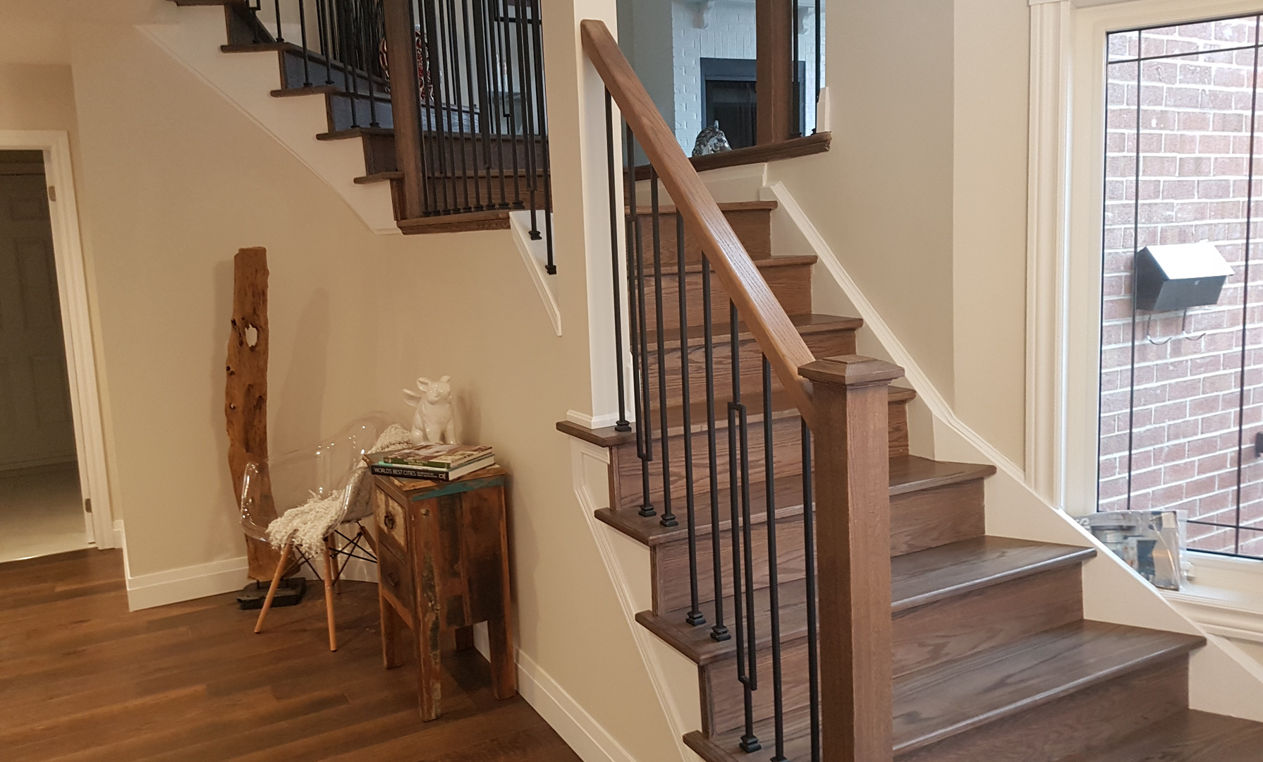 Springfield Staircase Refinish (1/2)