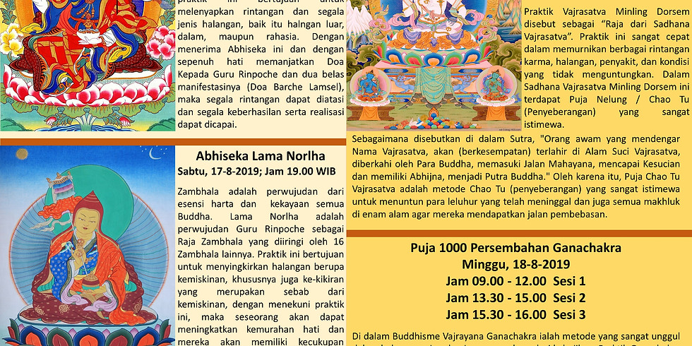 Dharma Teaching by Simdha Getul Rinpoche in Jakarta