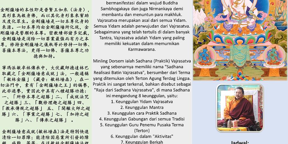 Grand Puja Chao Tu Vajrasattva Minling Dorsem