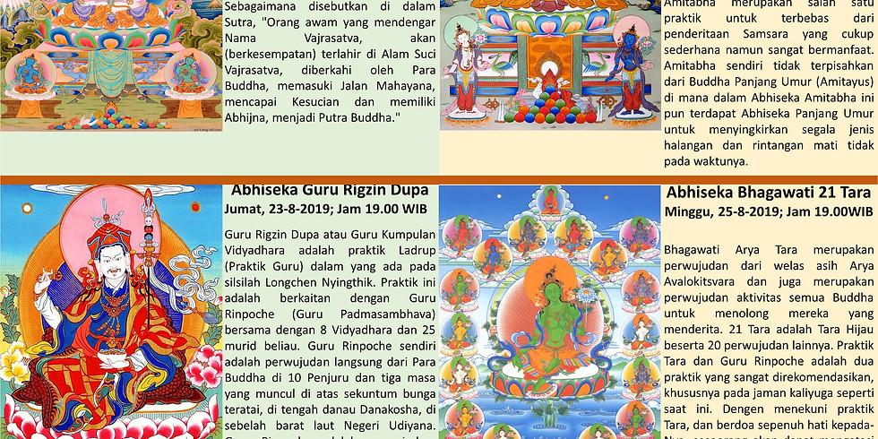 Dharma Teaching by Simdha Getul Rinpoche in Bali