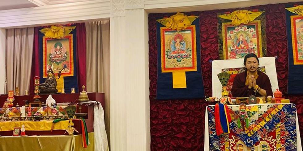 Vajrasattva Fire Puja and Dharma Teaching