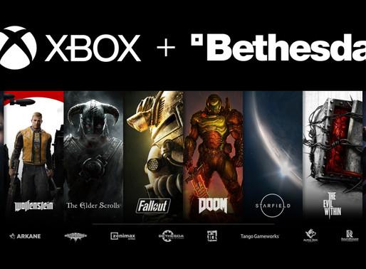 XBOX | Microsoft compra Bethesda por 7,5 bilhões de dólares