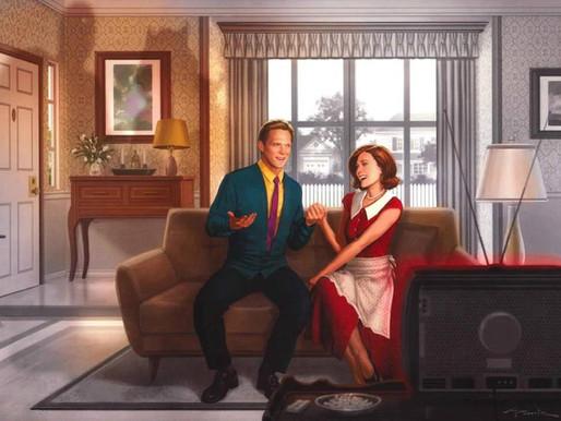 WandaVision | Arte Promocional destaca estilo SitCom da série