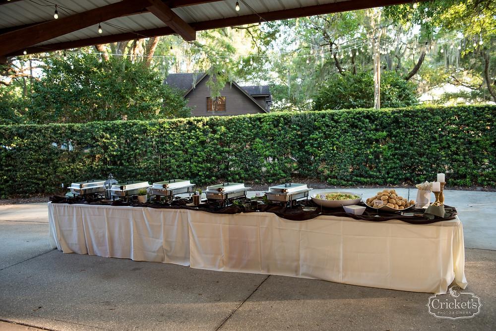 Orlando Club Lake Plantation Wedding Catering