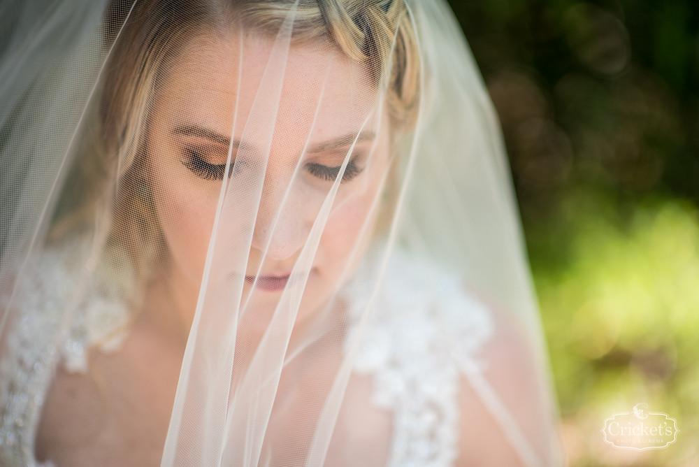 Orlando Club Lake Plantation Wedding Hair Makeup and Dress