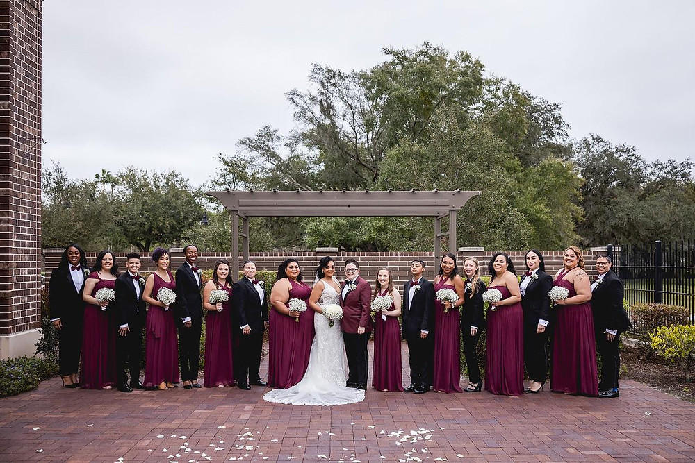 entire bridal party