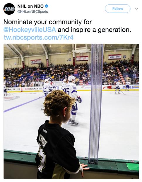 NHL on NBC Tweet