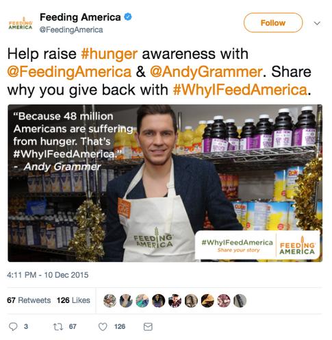 Andy Grammer Tweet