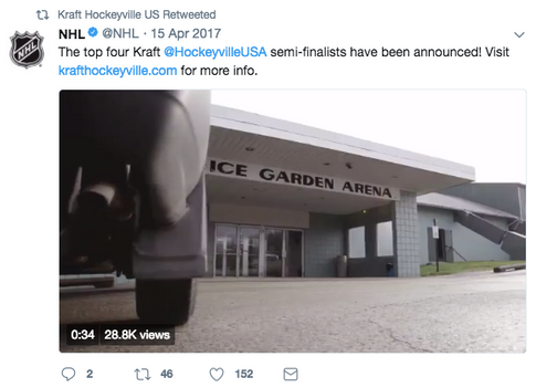 Content Partnership with NHL